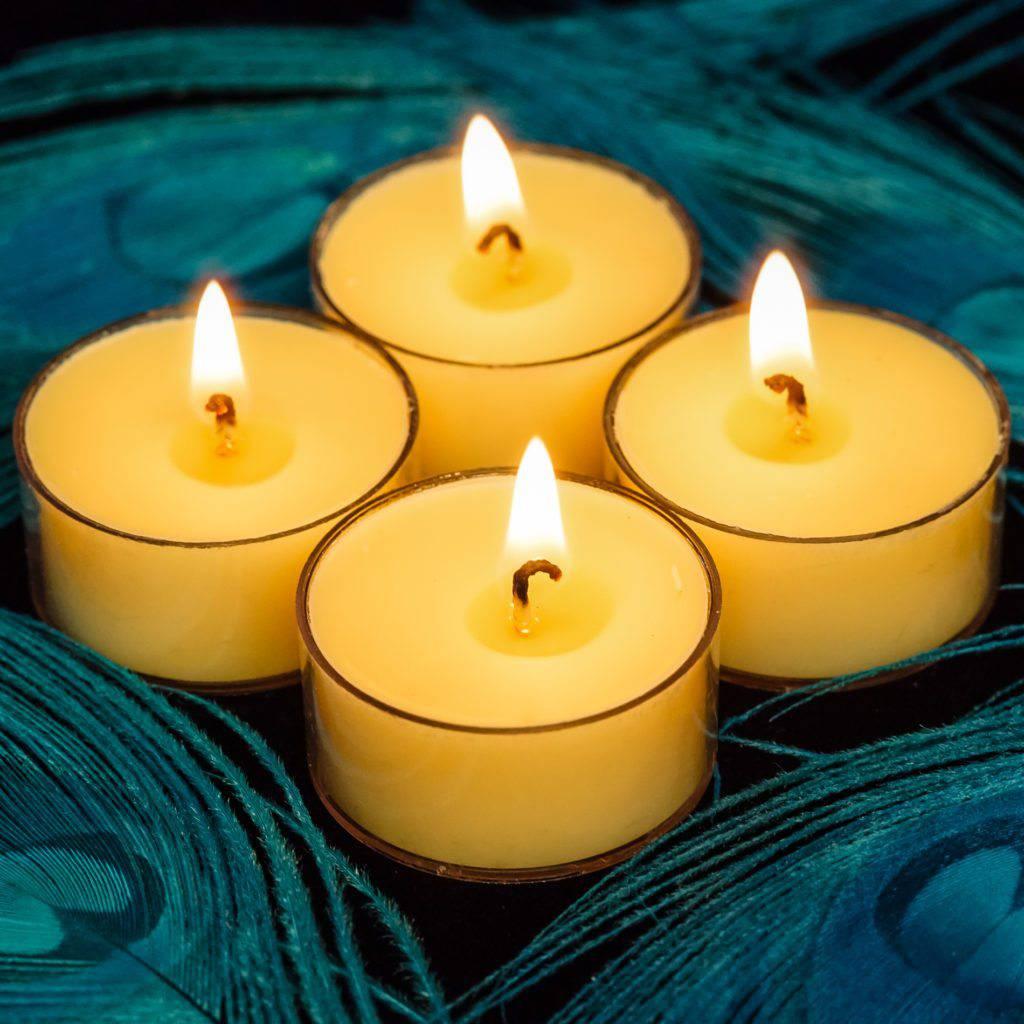 gratitude tealights