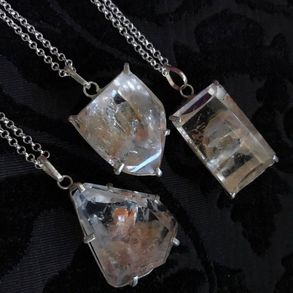 inner child quartz pendants