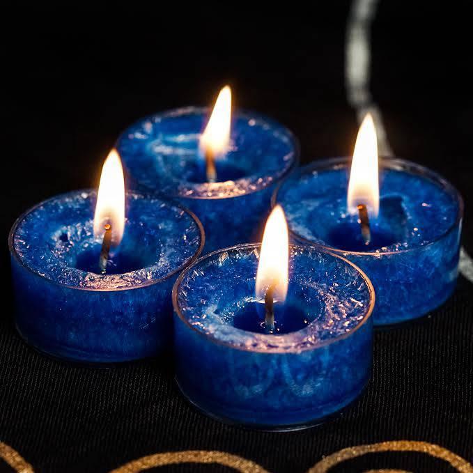 Samhain Divination Kit Tea Lights