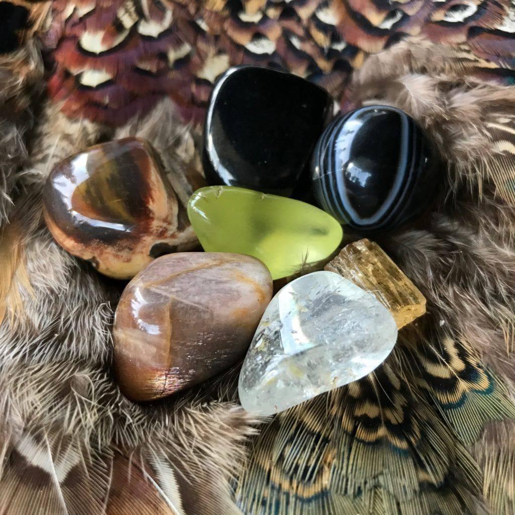 shamanic journey gemstone set