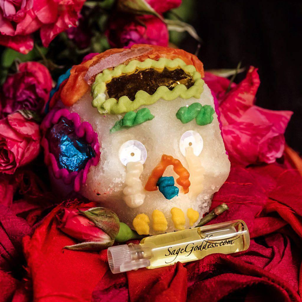 sugar skulls and calavera perfume