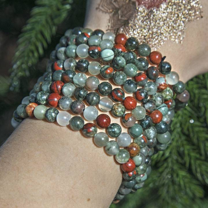 Healing and Physical Comfort Bloodstone Bracelet