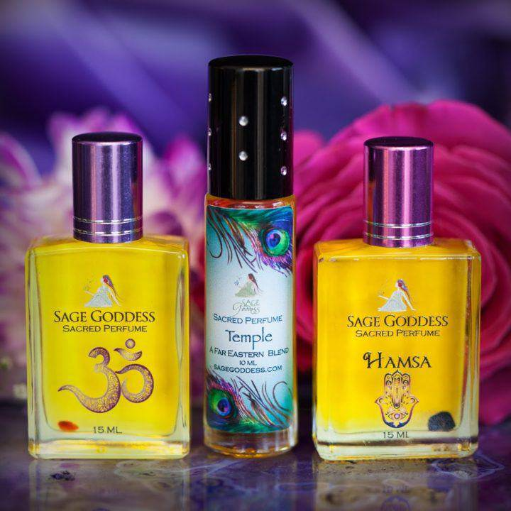 Sacred Journey Perfume Trio