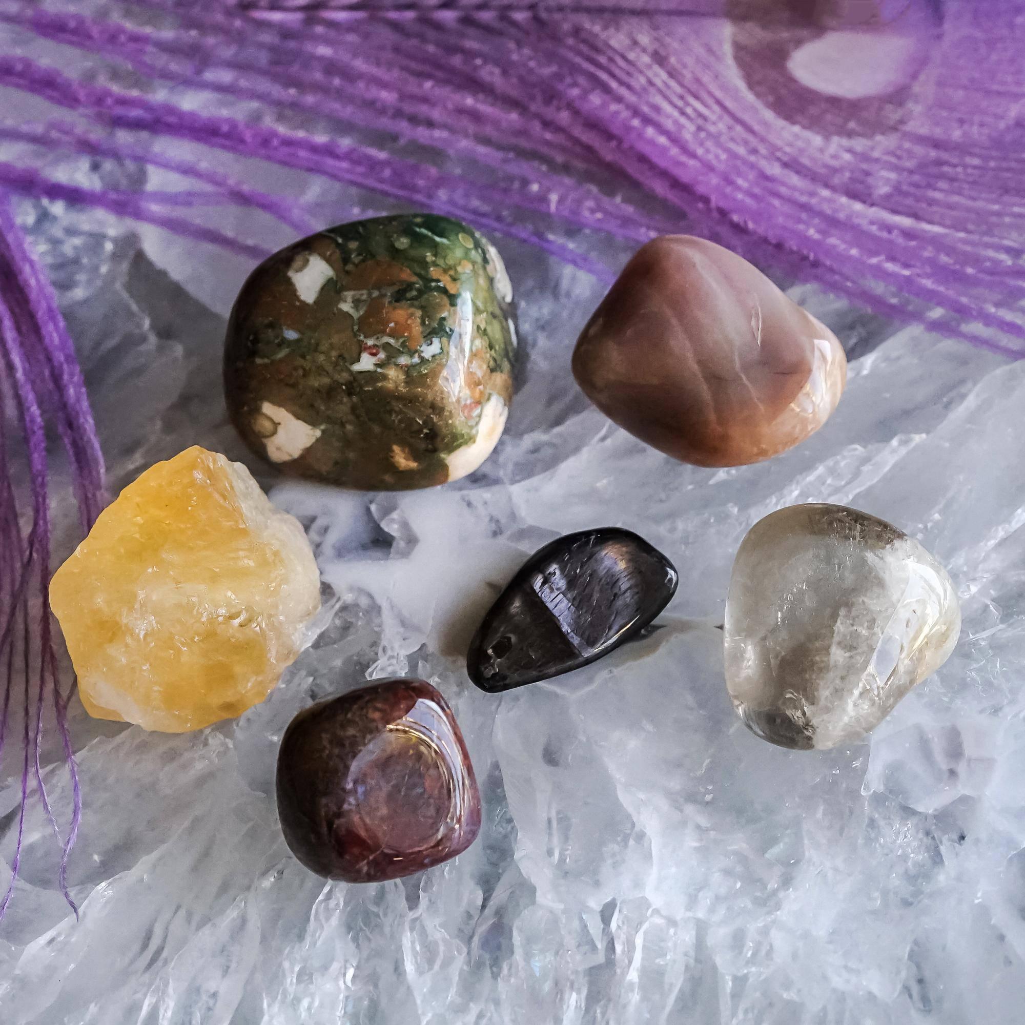 stones of support gem set