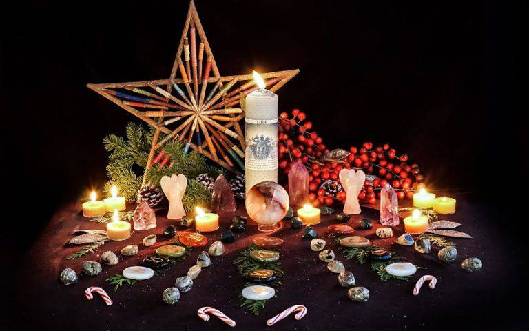Alter Your Altar December: Yuletide Blessings