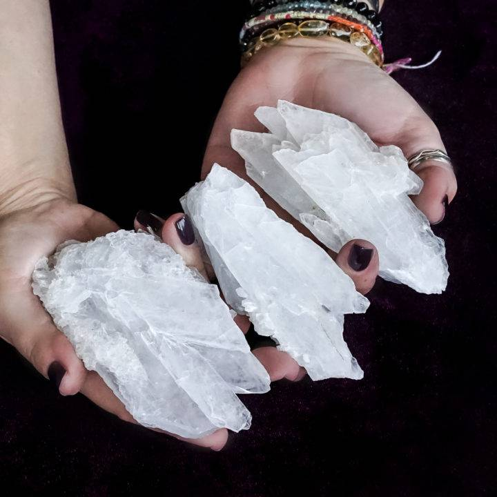 anhydrite crystals