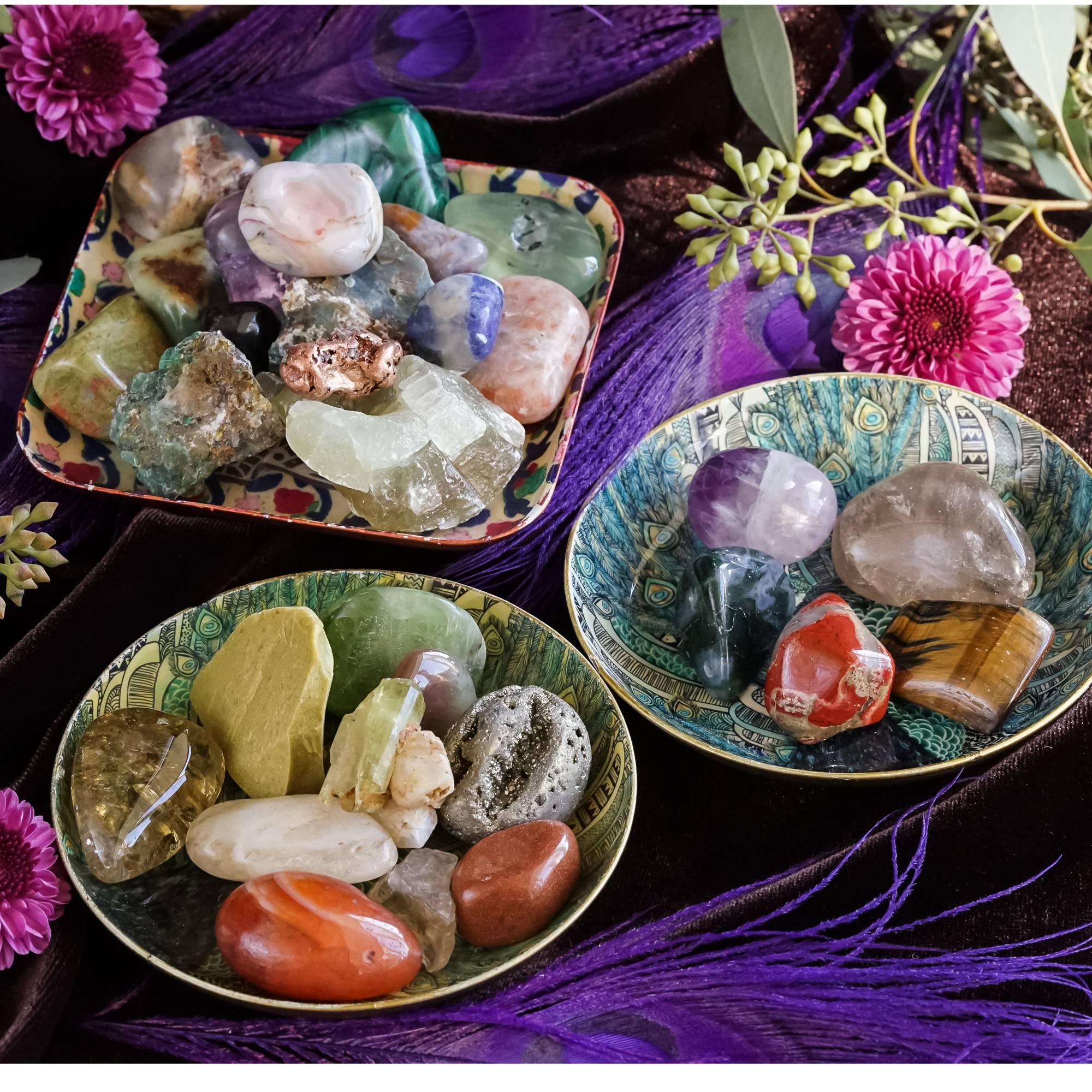 new year's intention custom gemstone sets