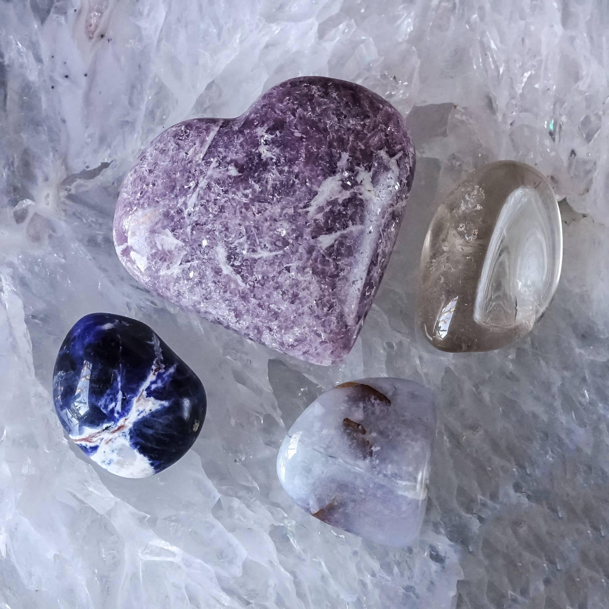 rest easy set gemstones sage goddess