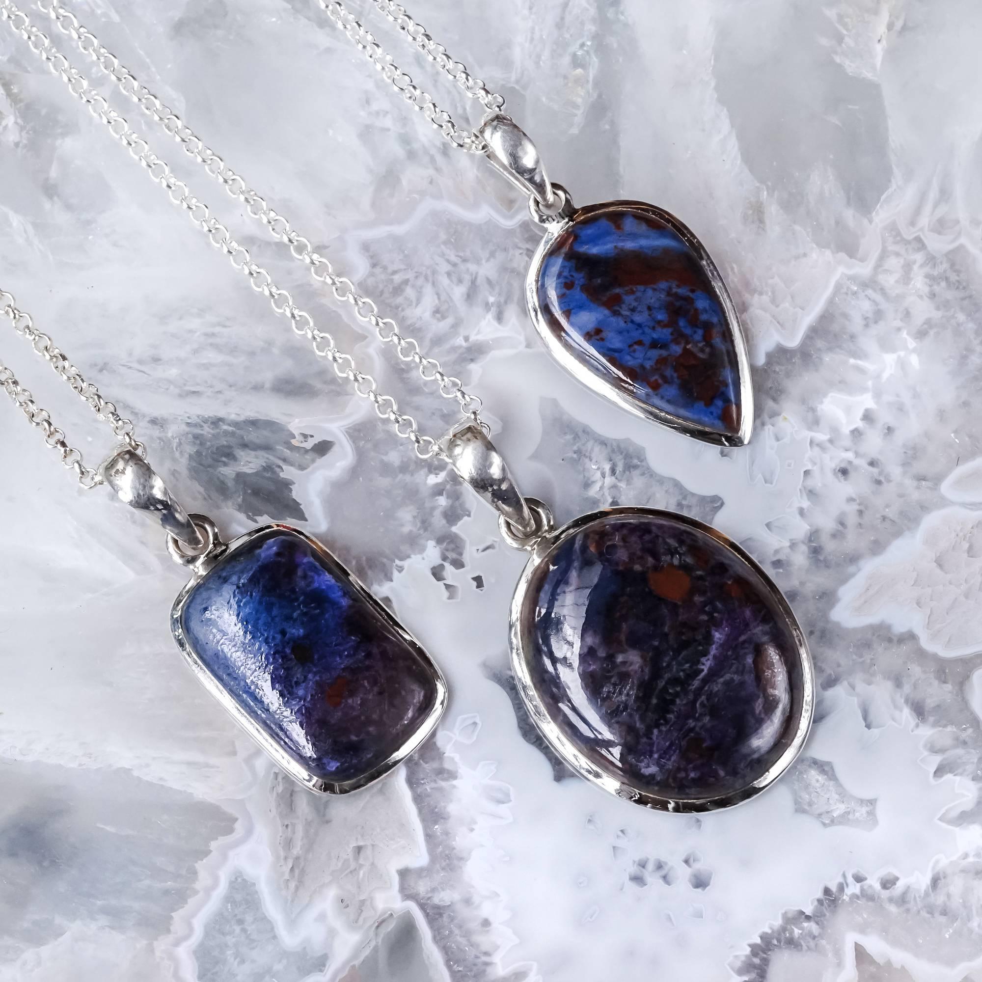 small sugilite necklaces