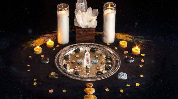 Alter Your Altar January: New Year New Intentions