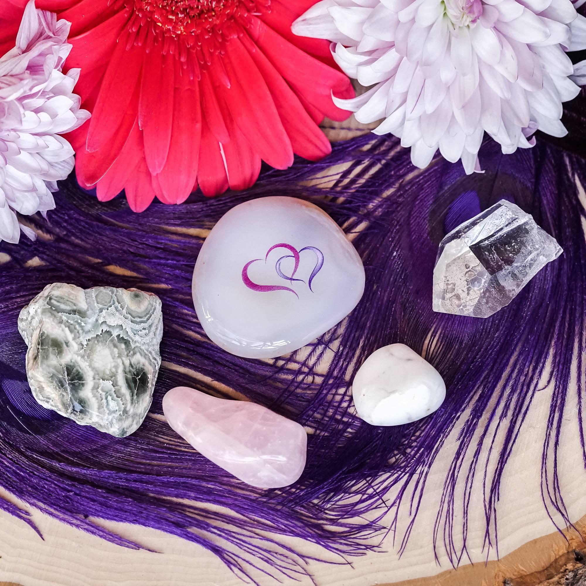 beloved friendship gemstone set
