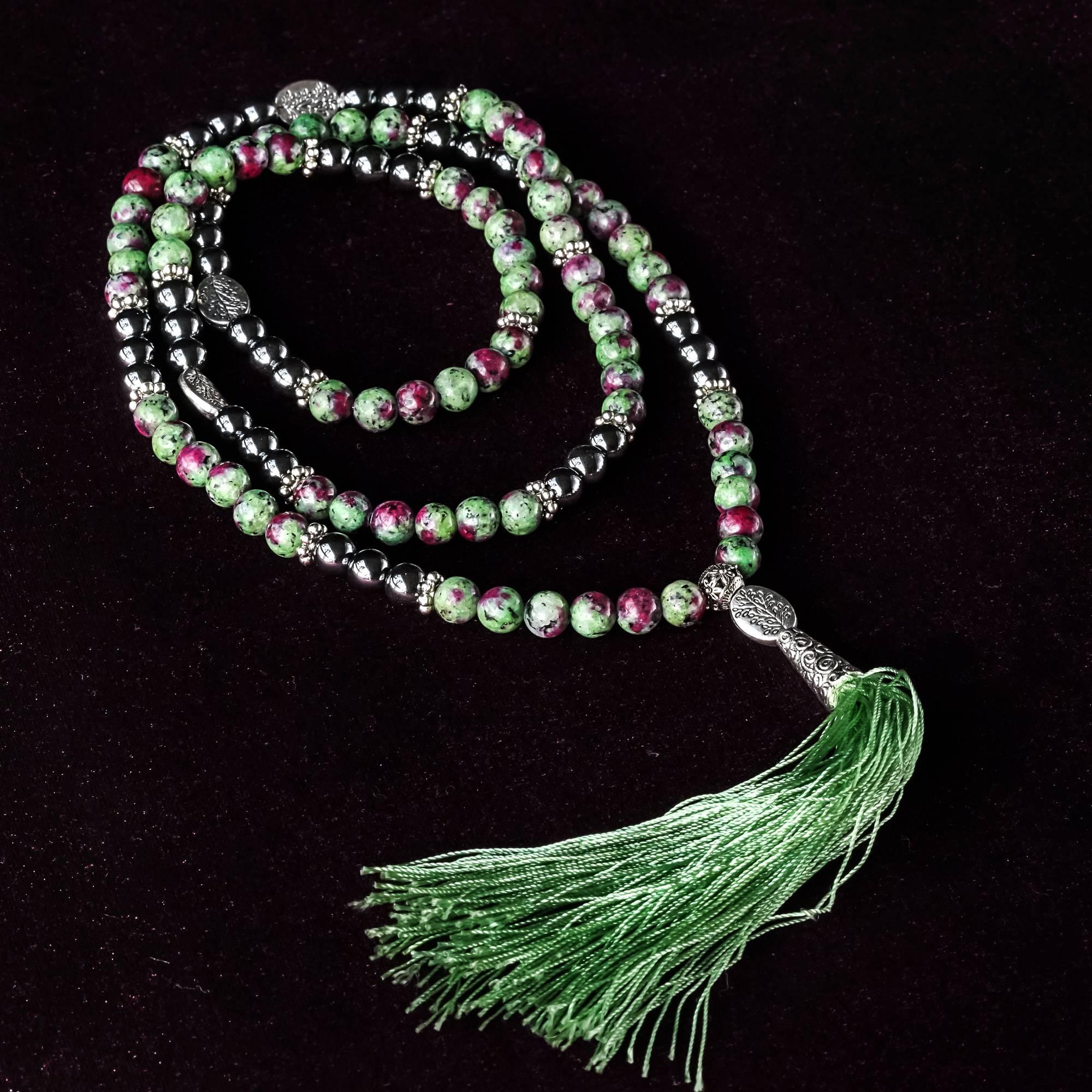 crystal prayer beads