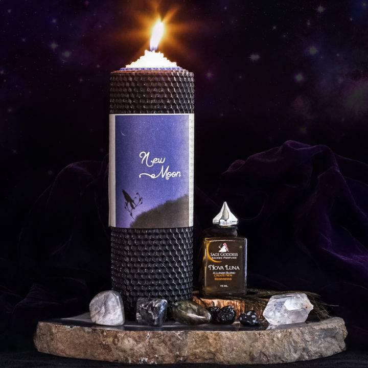 dark moon ritual set