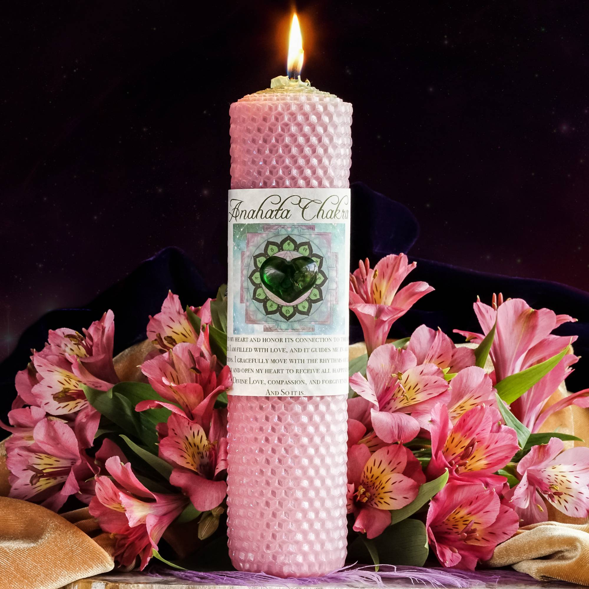 anahata candle