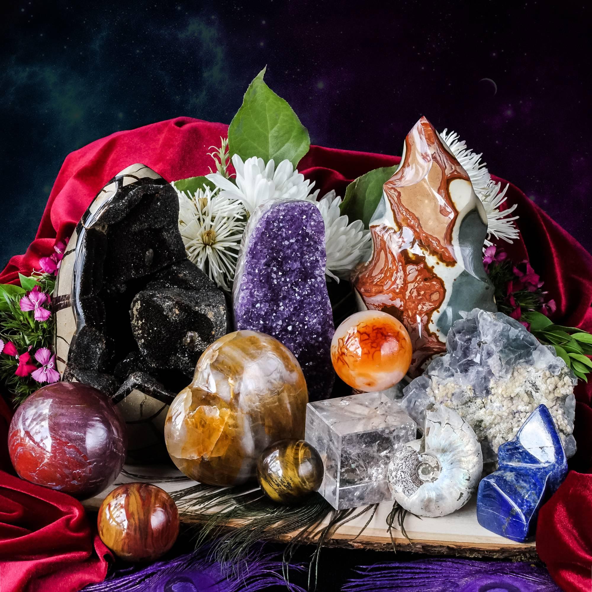 intuitively chosen gems