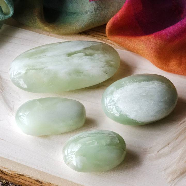 jade palm stone crystals