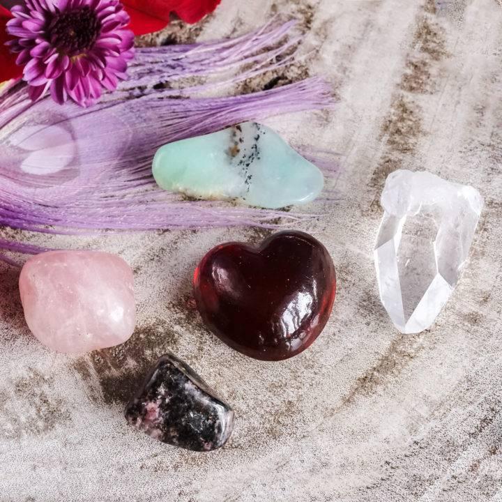 love spell gemstones