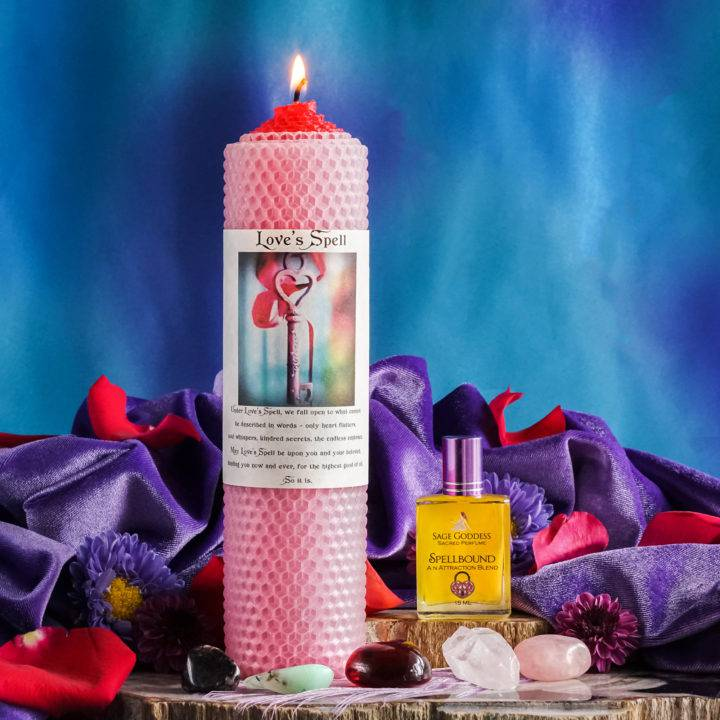 love spell romance ritual and attraction set