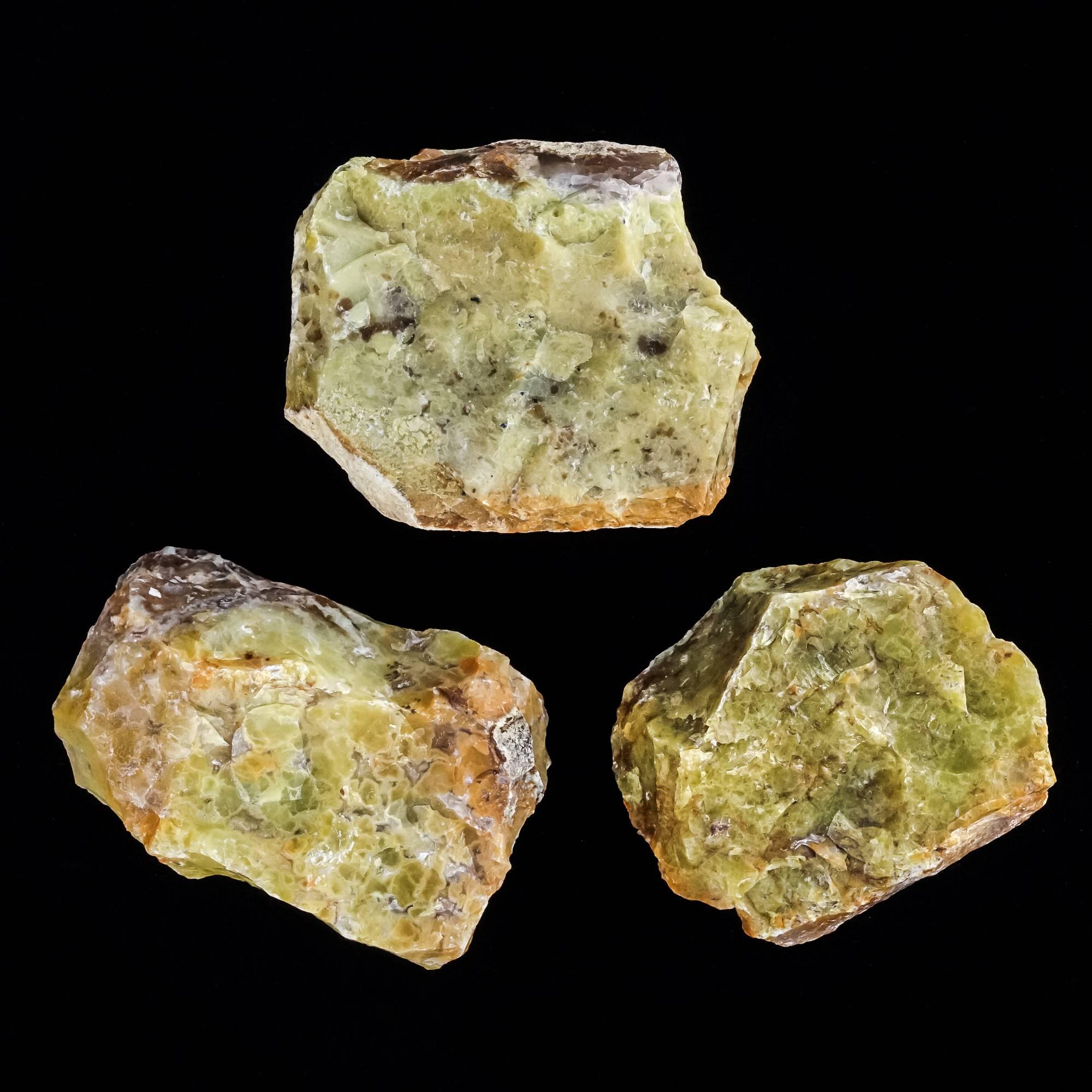 natural green apple opal