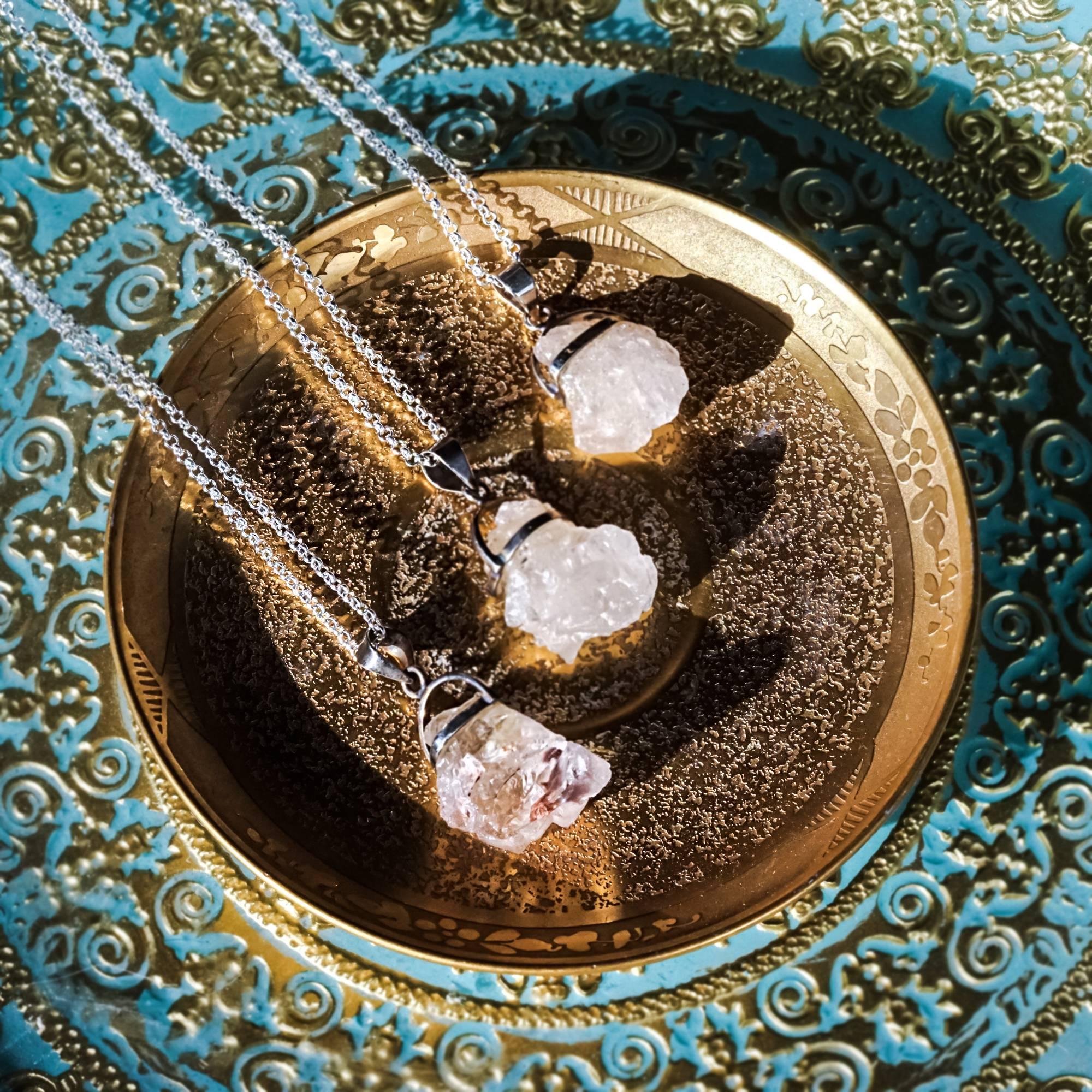 nirvana quartz necklaces