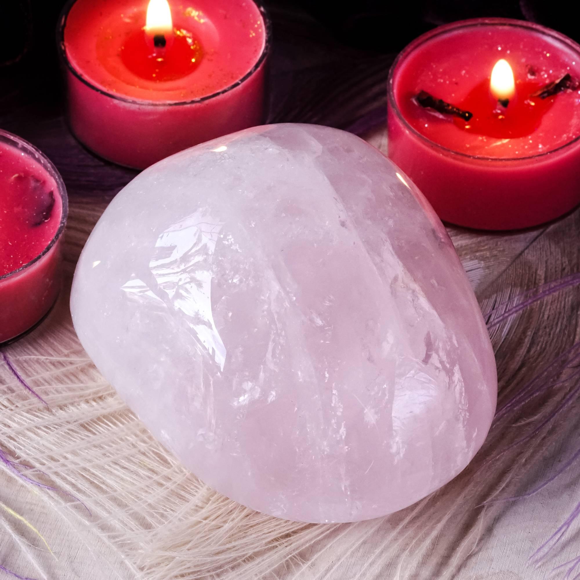 rose quartz power stone