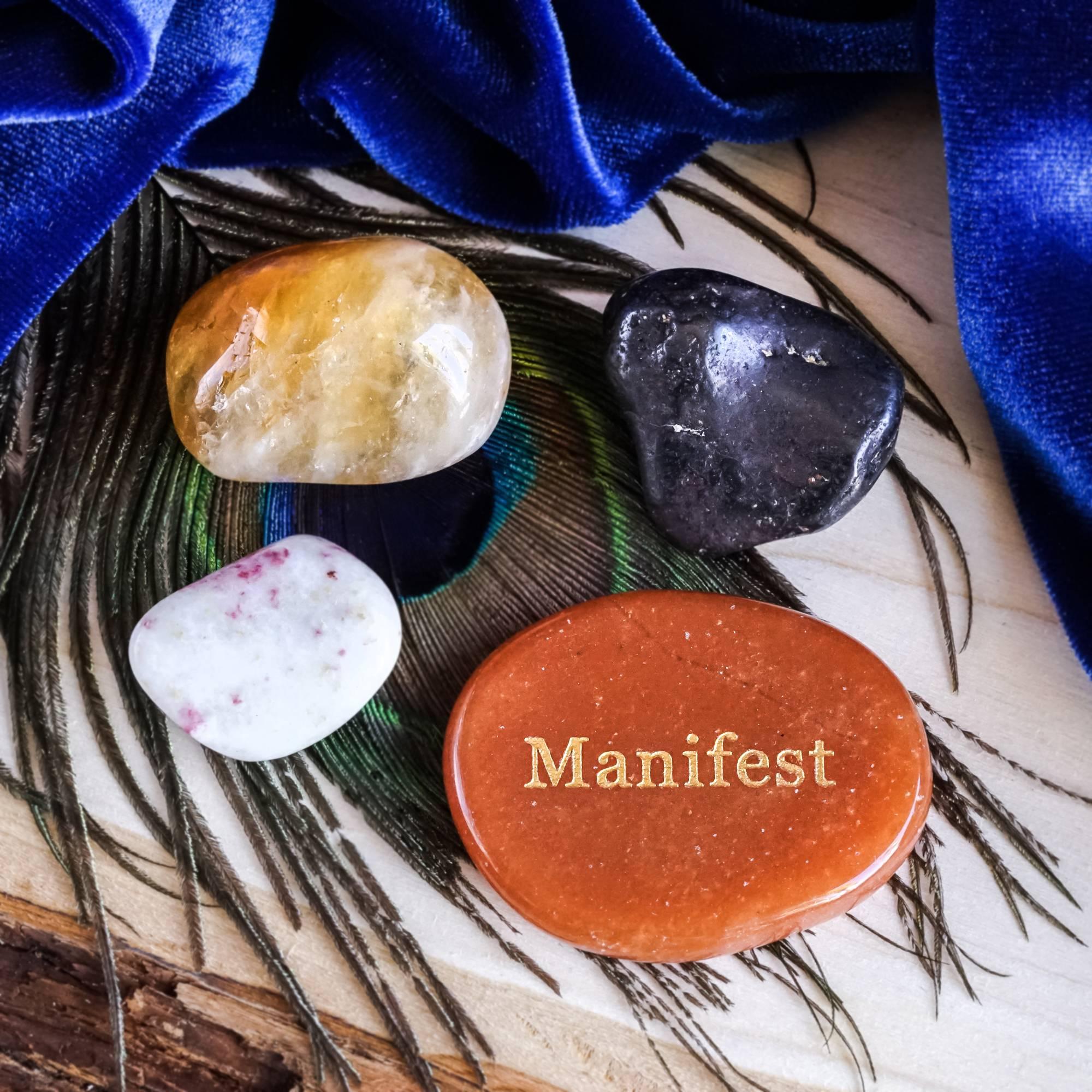 total manifestation toolkit gemstone set