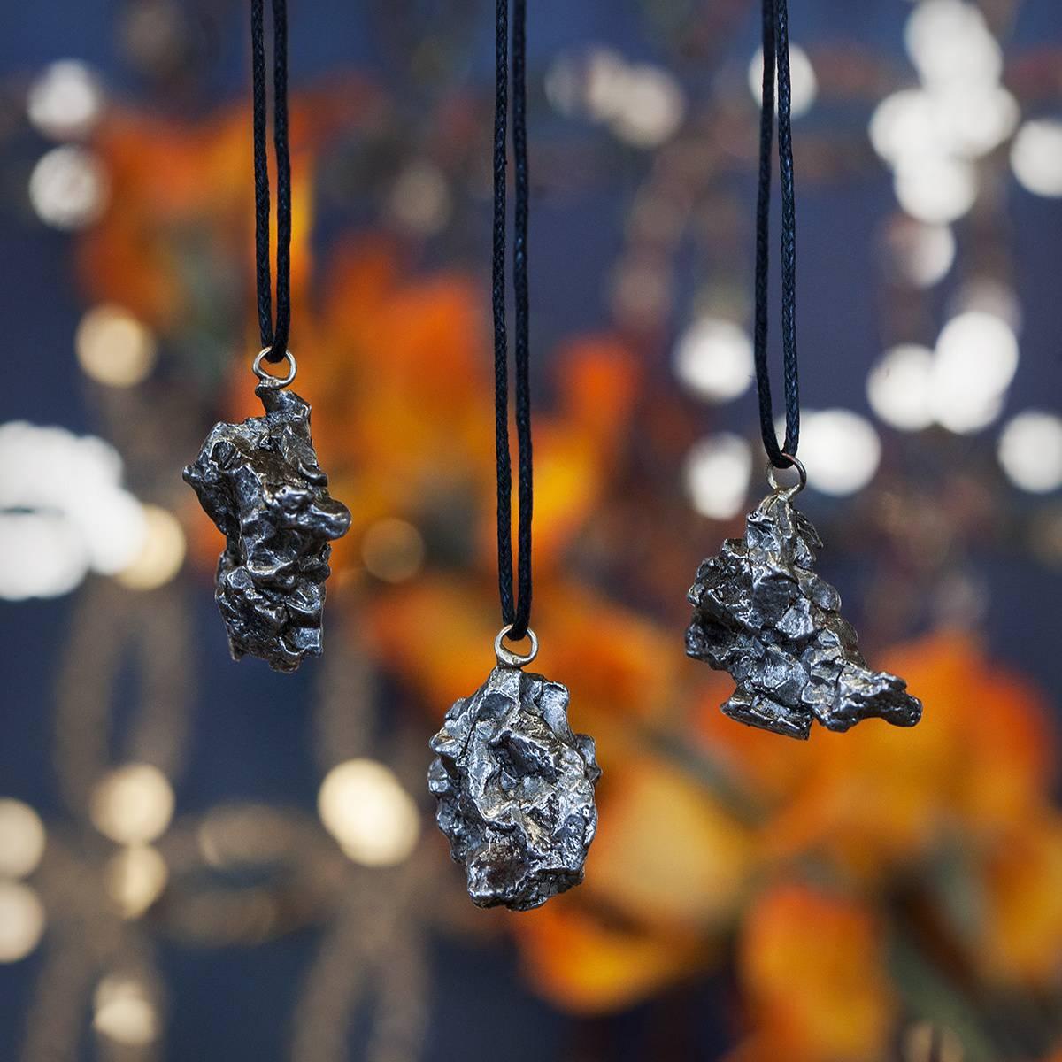 Campo Del Cielo Meteorite Pendants 5_11