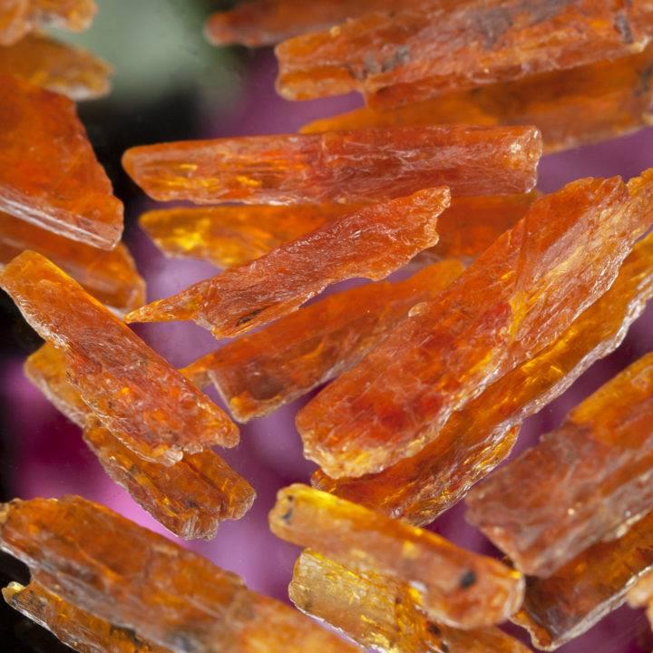 Natural Orange Kyanite Blade