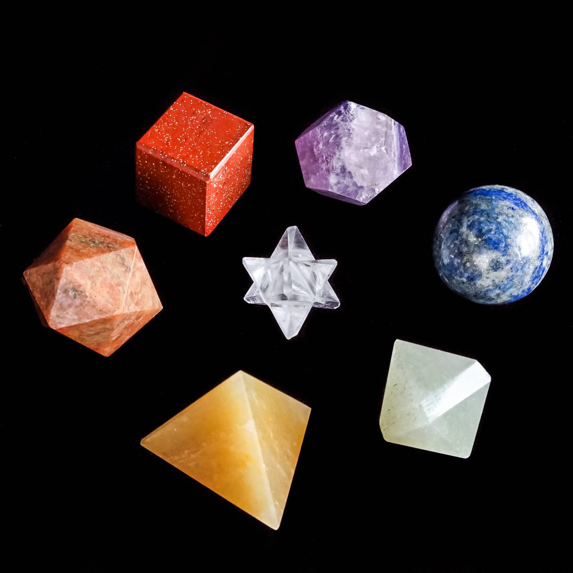 chakra sacred geometry set