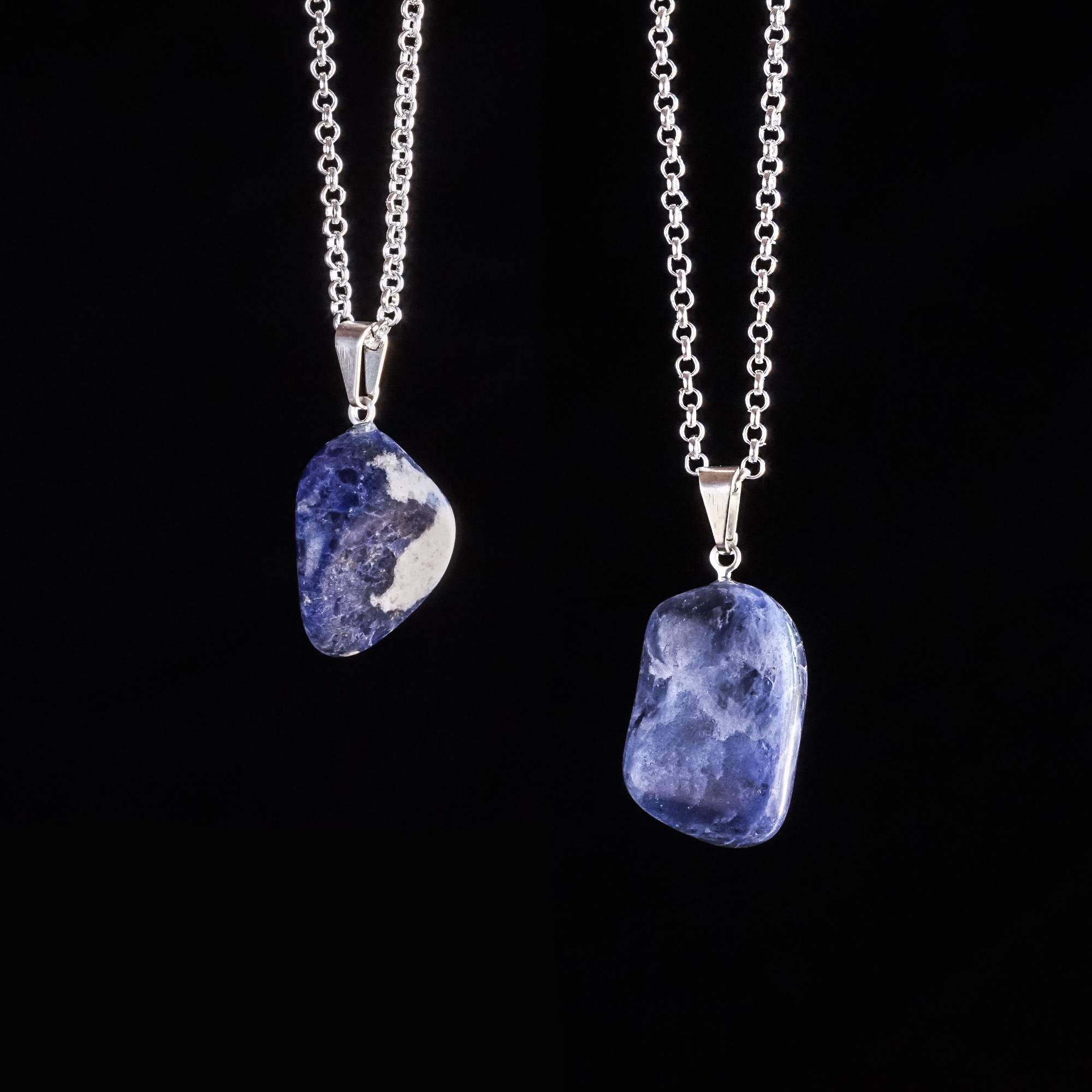 Sodalite drop pendants for serene third eye knowing sodalite drop pendants aloadofball Choice Image