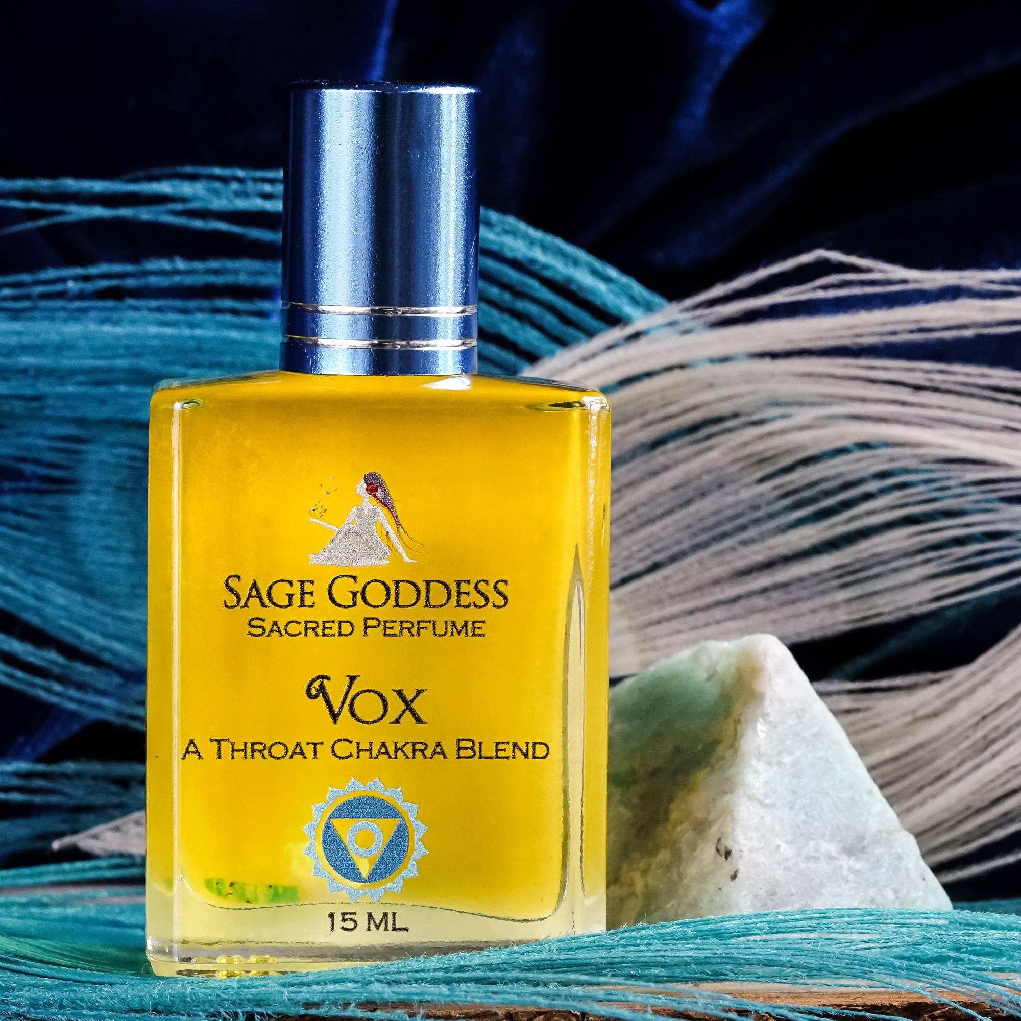 vox parfume with natural amazonite