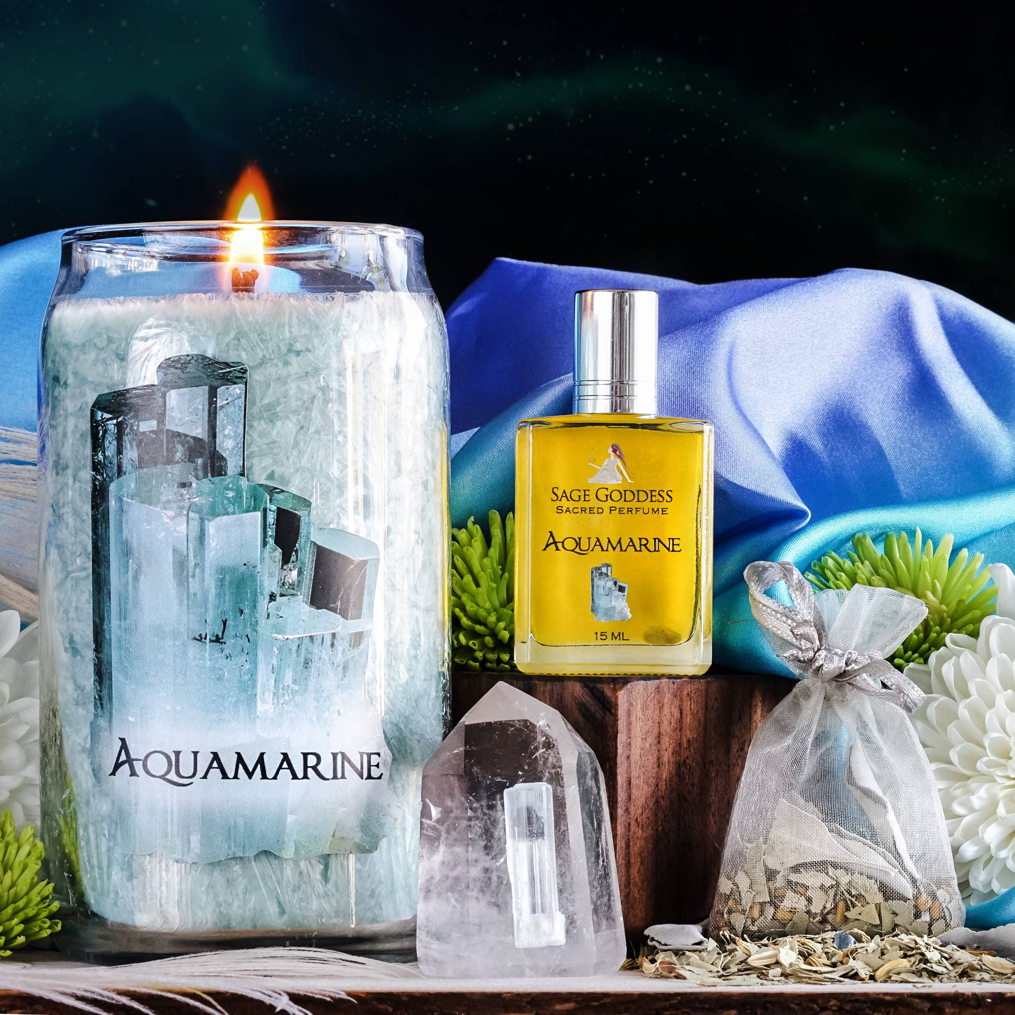 aquamarine emotional attunement set