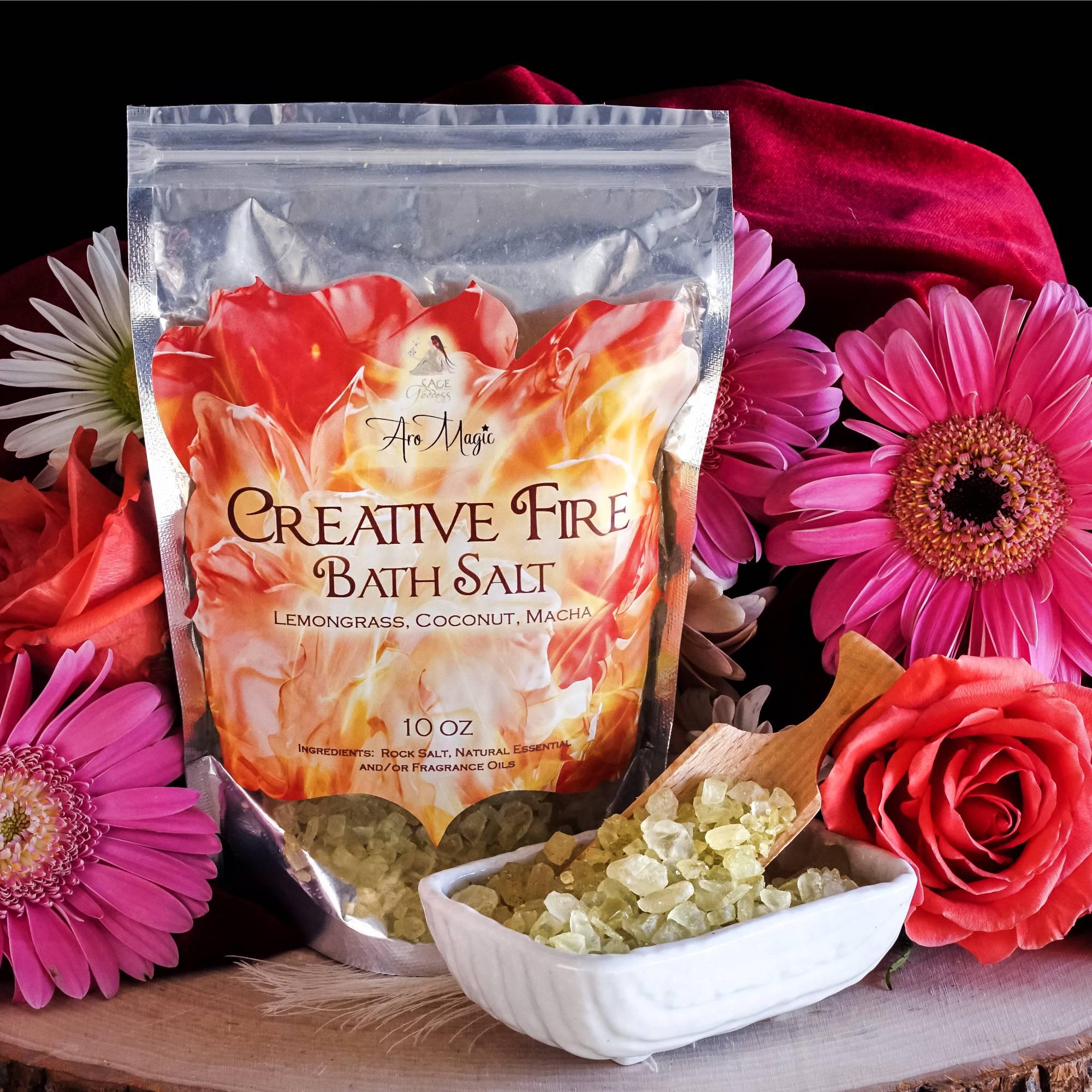 Creative Fire Bath Salts