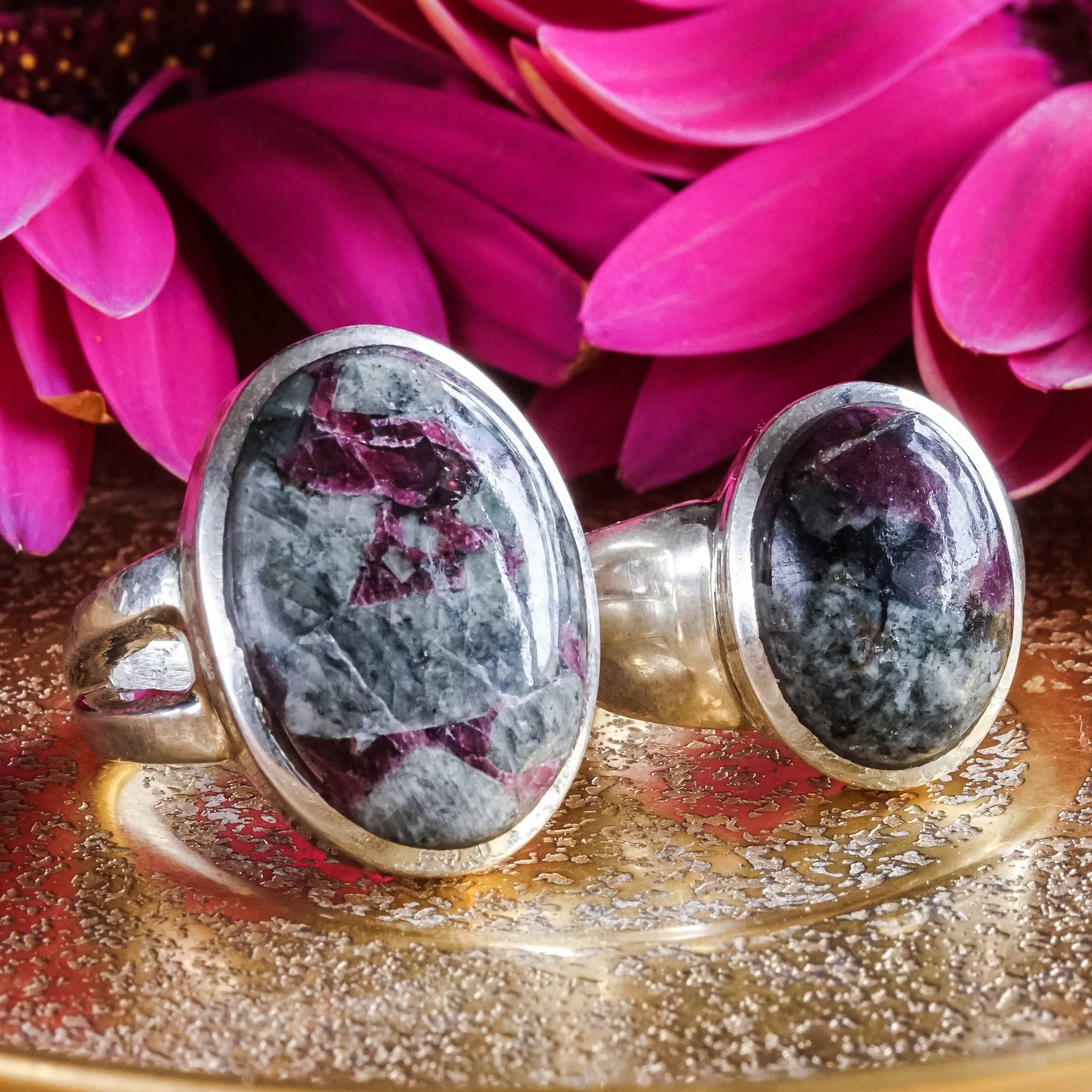 eudialyte rings