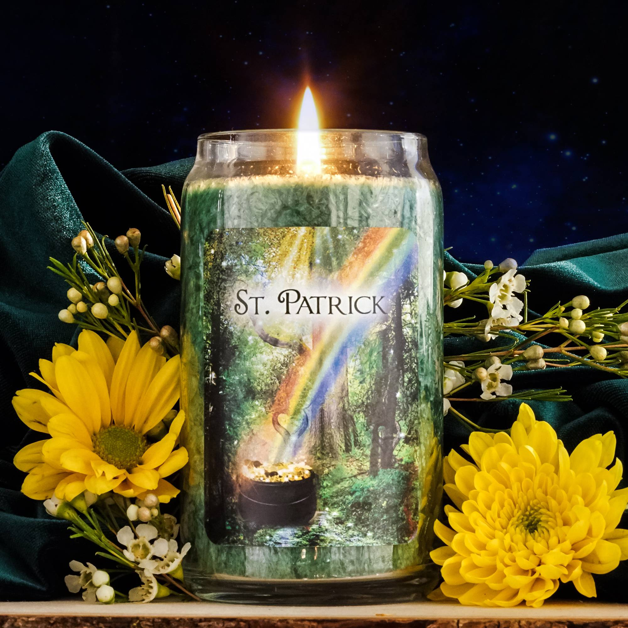 st patricks kit candle
