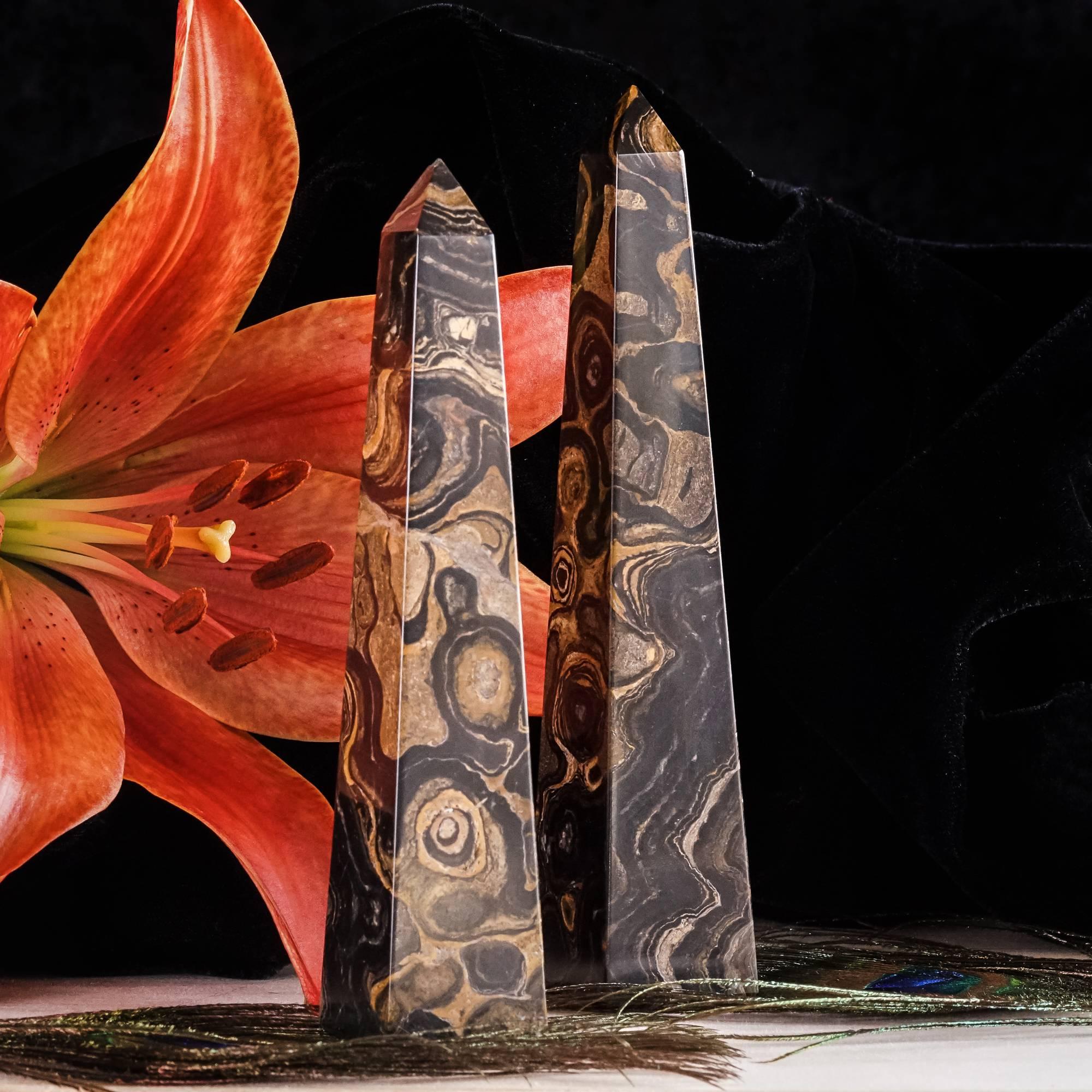 stromatolite obelisks