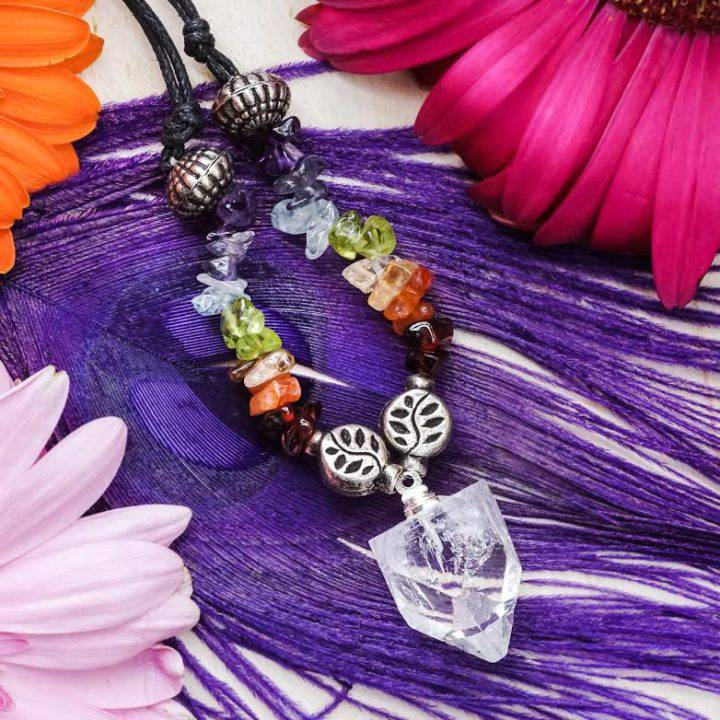 apophyllite chakra necklaces