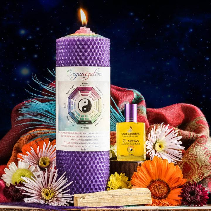 clear and organize your sacred space duo