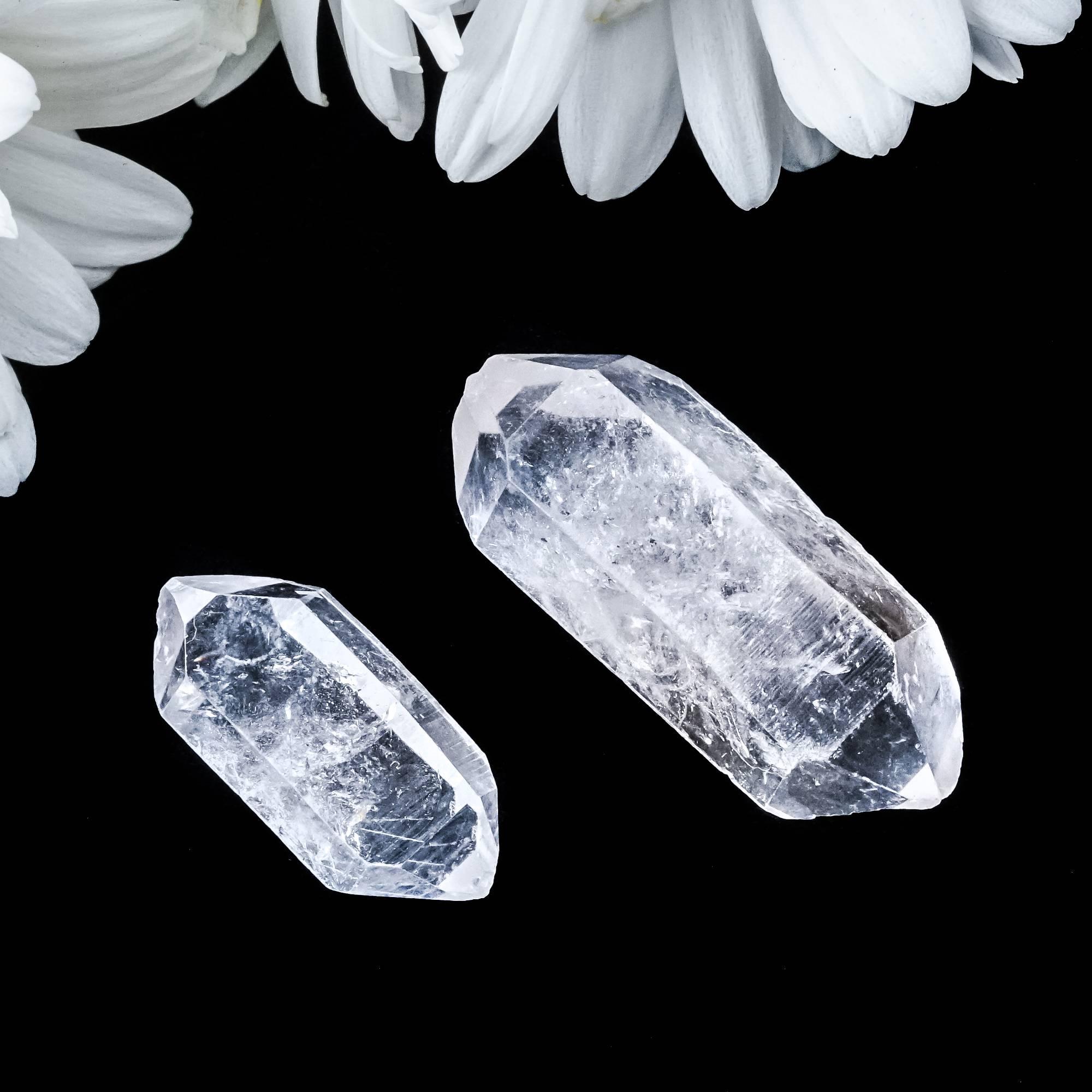 double terminated tibetan quartz wands