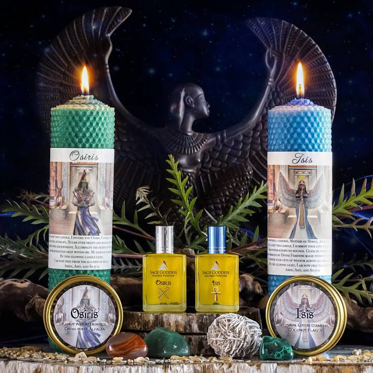 full moon ritual set
