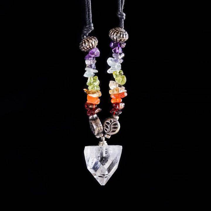 gemstone chakra necklaces