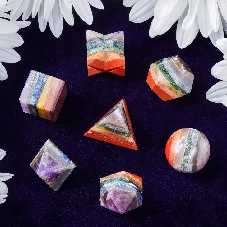 sacred geometry chakra set