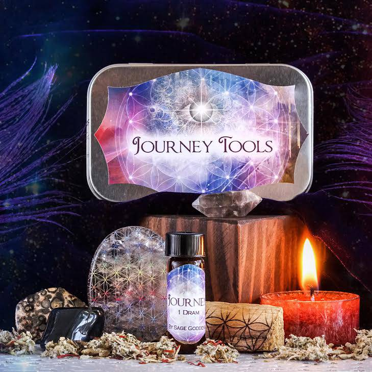 shamanic journey travel set