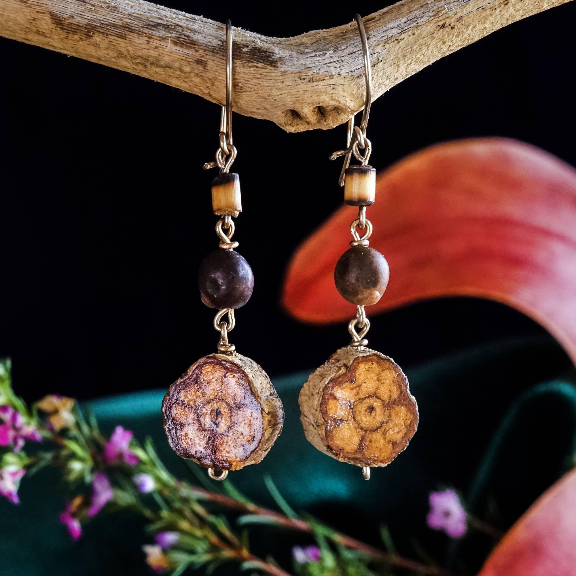 spirit vine earrings