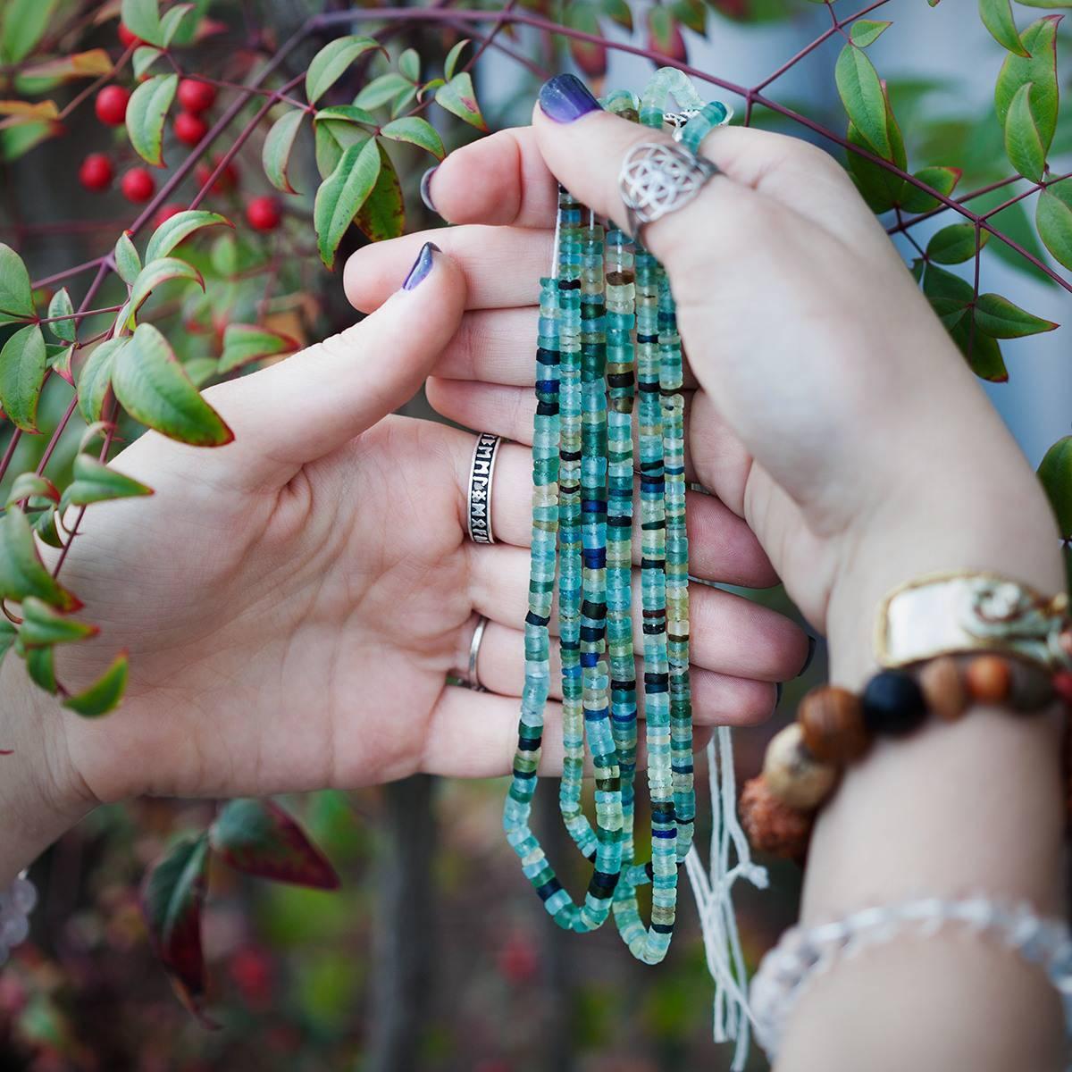 Roman Glass Beads 3_31