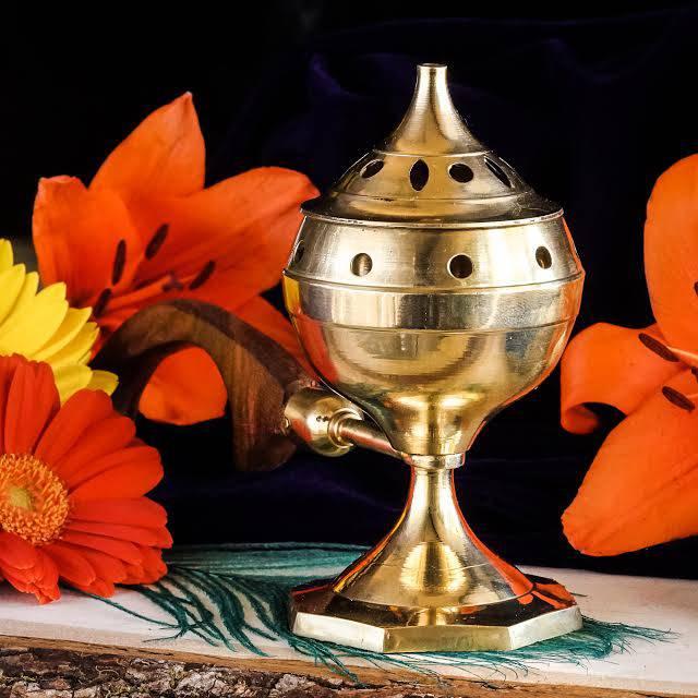 brass incenser