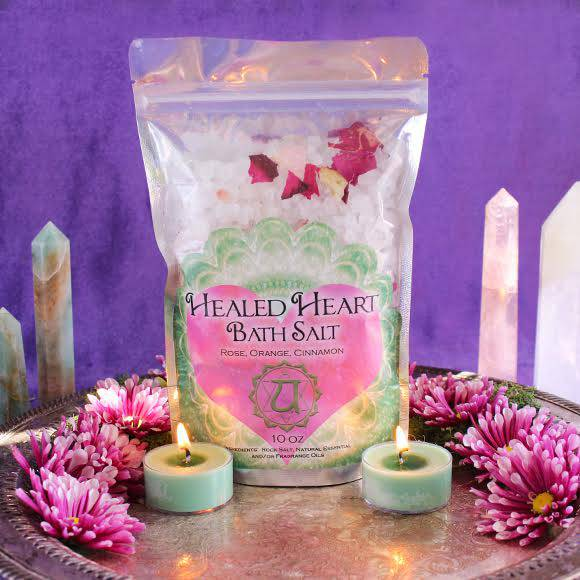 heart health bath salts