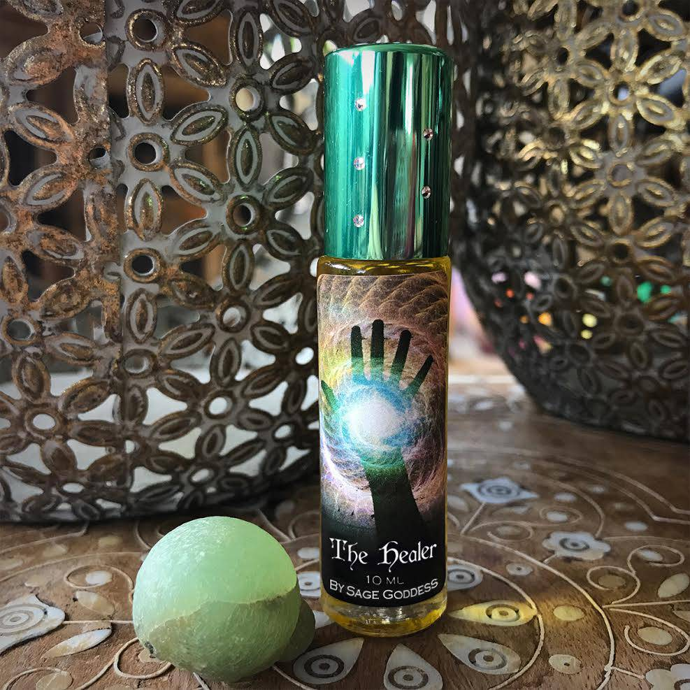 ultimate healer perfume and stone duo