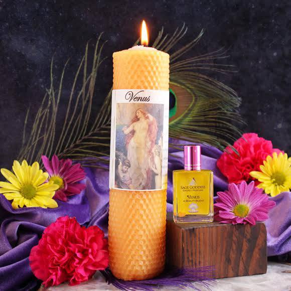 venus candle perfume duo2