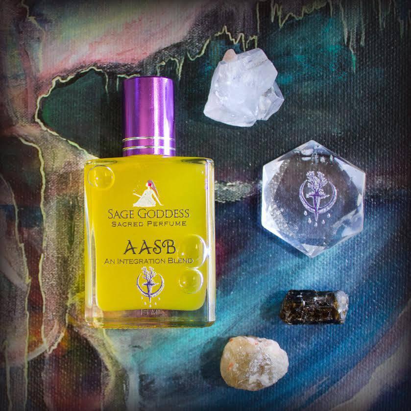 AASB perfume and gemstone kit